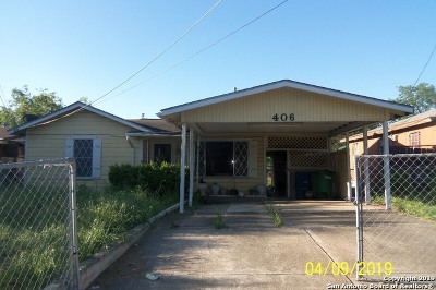 San Antonio Single Family Home New: 406 Brandywine Ave