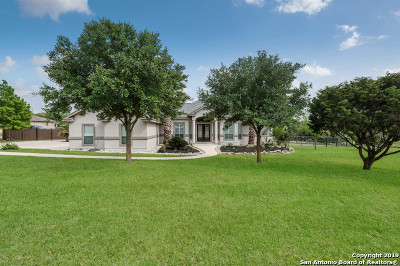 San Antonio Single Family Home New: 208 Deer Cross Ln