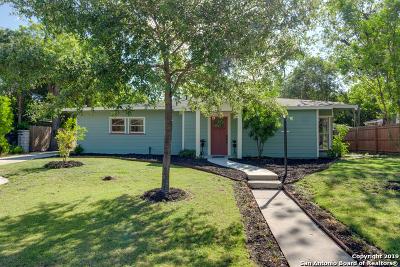 San Antonio Single Family Home New: 119 Seeling Blvd
