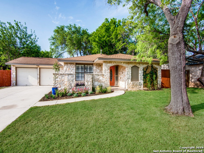 San Antonio Single Family Home New: 6231 Farragut Dr