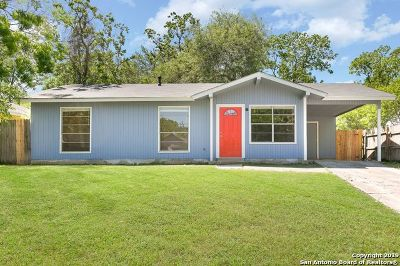 San Antonio Single Family Home New: 5322 Marconi St