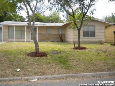 San Antonio Single Family Home New: 3338 Bob Billa St
