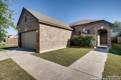 Bexar County Single Family Home New: 9947 Hawk Village
