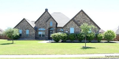 Schertz Single Family Home New: 6845 Ivy Leaf