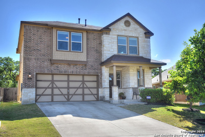 Boerne Single Family Home New: 133 Sandy Shoal