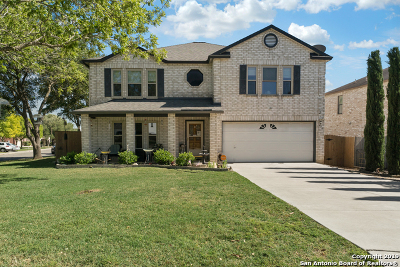 Schertz Single Family Home New: 454 Twin Point Crk