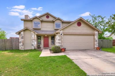 Boerne Single Family Home New: 222 Cibolo Crossing Dr