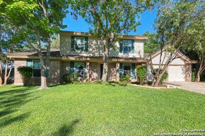 San Antonio Single Family Home New: 19915 Encino Grove
