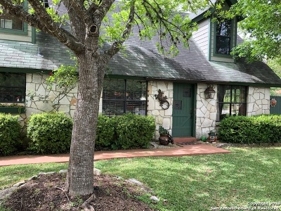 Boerne Single Family Home New: 117 Hughs St