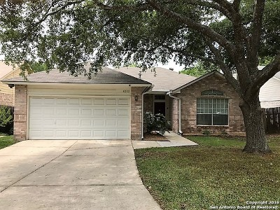 San Antonio Single Family Home New: 6223 Lantern Creek