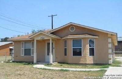 San Antonio Single Family Home New: 735 Rice Rd