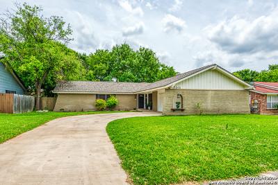 San Antonio Single Family Home New: 11202 El Sendero St