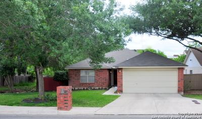 San Antonio Single Family Home New: 16234 Deer Pass St