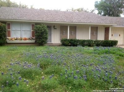 San Antonio Single Family Home New: 10718 Janet Lee Dr