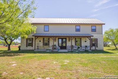 Adkins Single Family Home New: 310 County Road 323