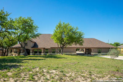 Canyon Lake Single Family Home For Sale: 1711 Mountain Springs