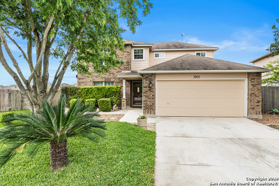 Schertz Single Family Home New: 3900 Cherry Tree Dr