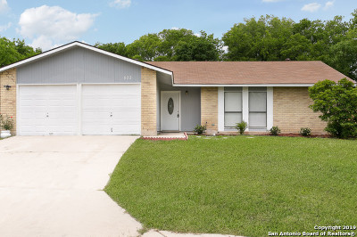 San Antonio Single Family Home New: 803 Robinair Dr