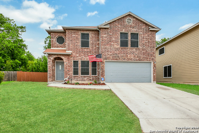 San Antonio Single Family Home New: 5603 Lovett Oaks