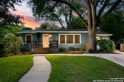 San Antonio Single Family Home New: 426 Devonshire Dr