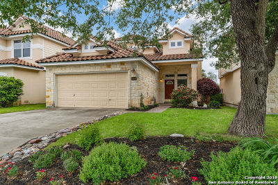 San Antonio Single Family Home New: 25518 Echo Springs
