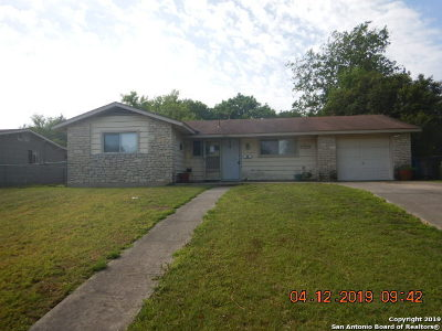 San Antonio Single Family Home New: 4026 E Palfrey St