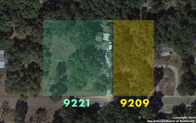 Boerne Residential Lots & Land New: 9209 Aqua Dr
