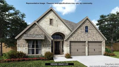 Boerne Single Family Home New: 9715 Kremmen Place