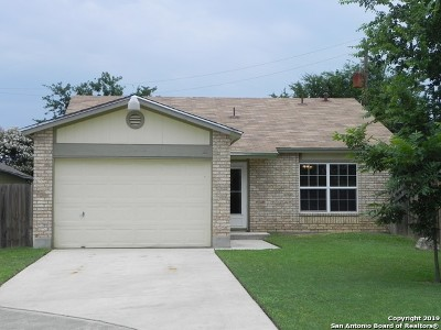 San Antonio Single Family Home New: 7671 Alverstone Way