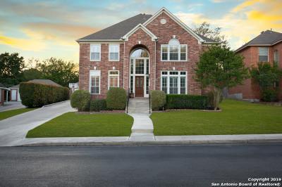 San Antonio Single Family Home New: 21823 Barton Woods