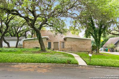 San Antonio Single Family Home New: 3558 Red Oak Ln