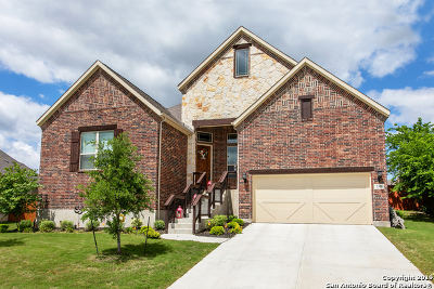Schertz Single Family Home Price Change: 2308 Misty Cove