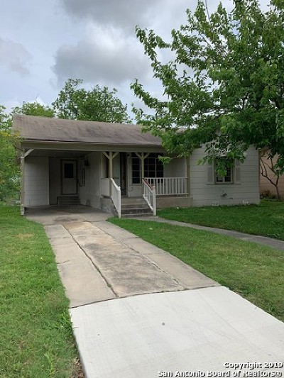 San Antonio Single Family Home New: 211 Golden Crown Dr