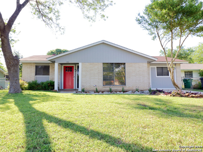 San Antonio Single Family Home New: 3411 Starbend St