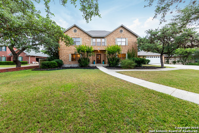 Helotes Single Family Home For Sale: 10815 Hunters Way
