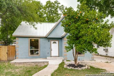 San Antonio Single Family Home New: 1831 Edison Dr