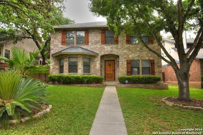 San Antonio Single Family Home New: 9555 Dover Ridge