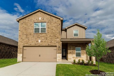 Bexar County Single Family Home New: 11815 Wolf Canyon