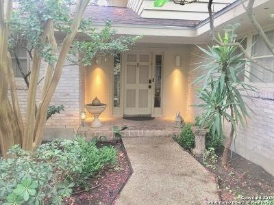 San Antonio Single Family Home New: 10810 Silhouette St
