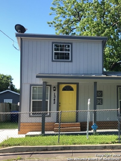 San Antonio Single Family Home New: 1342 Chalmers Ave