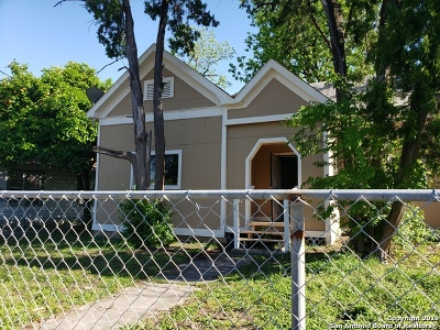 San Antonio Single Family Home New: 334 Gulf