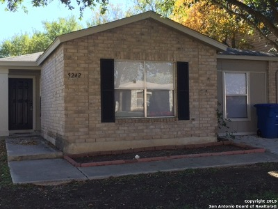 San Antonio Single Family Home New: 9242 Village Brown