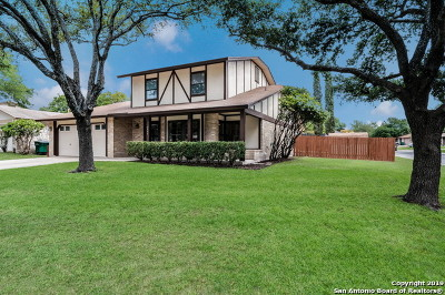 San Antonio Single Family Home Price Change: 3547 Le Blanc St