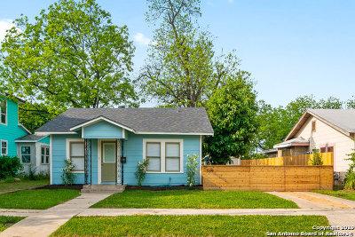 San Antonio Single Family Home New: 519 Pruitt Ave