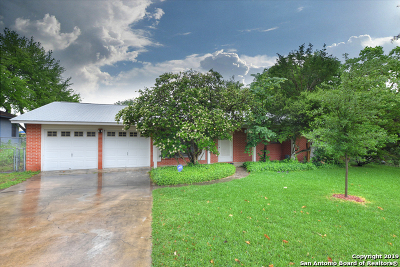 Bexar County Single Family Home Back on Market: 8406 Dudley Dr
