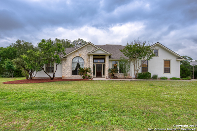 Helotes Single Family Home Active Option: 16110 Reyes Bluff
