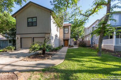 Alamo Heights Single Family Home For Sale: 307 Ogden Ln