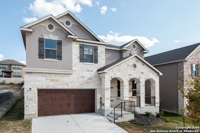 Cibolo Single Family Home Price Change: 512 Landmark Bluff
