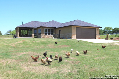 Adkins Single Family Home Active RFR: 16010 Us Hwy 87 West