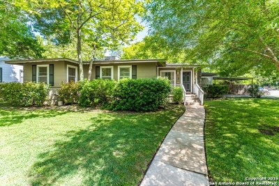 Alamo Heights Single Family Home For Sale: 275 E Fair Oaks Pl